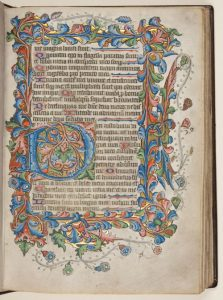 Planning and Design: Medieval illuminated manuscripts