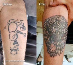 Coverup: Snowman to Owl