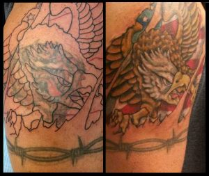 Coverup: Eagle Breaking Out