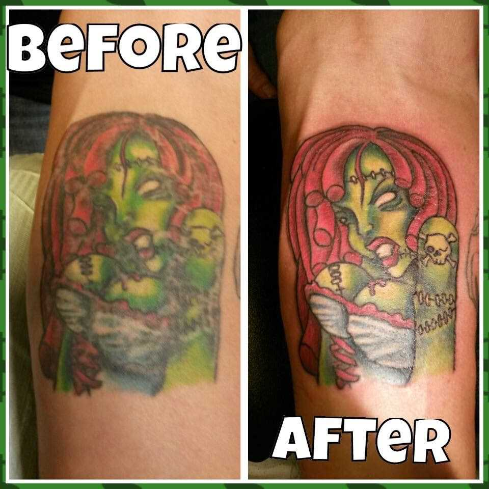 What Will Fade My Tattoo Clipart Library