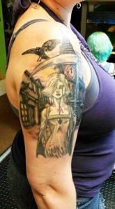 Grim Woman Reaper